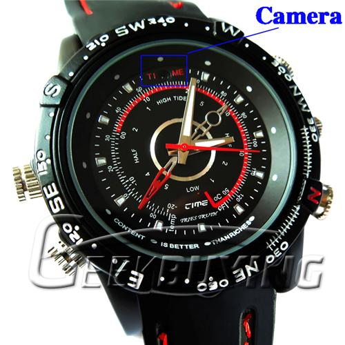Fashion Waterproof 8GB HD Wrist Watch Style Spy Cam Camera DVR