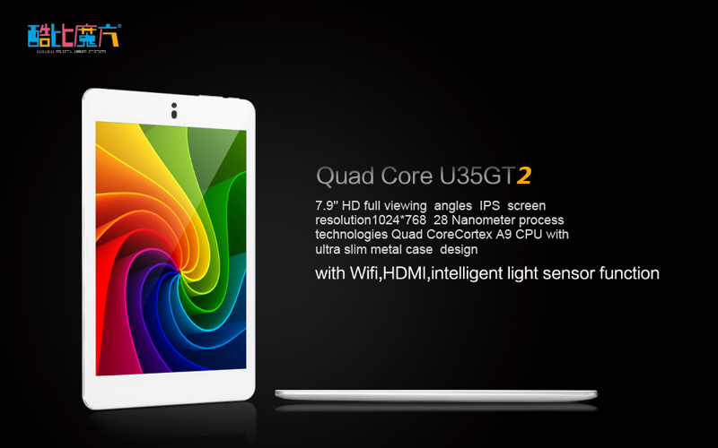 Cube U35GT2 RK3188 Quad Core Stock Firmware Optimized Touch