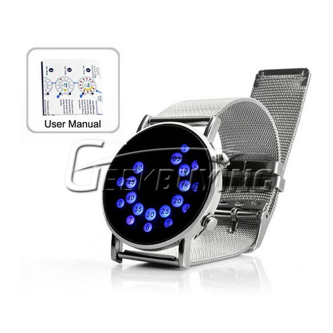 How to Set Time of Fashion Unisex Digital Ingenious Mirror ...