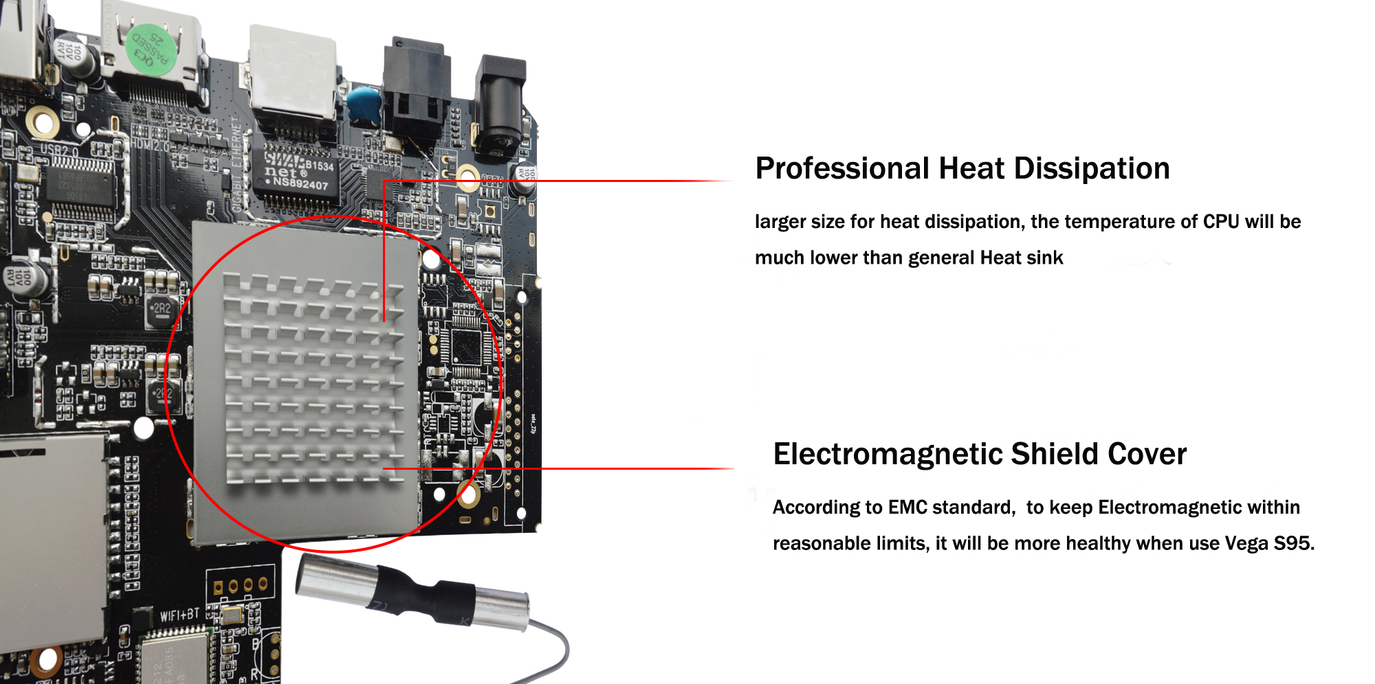Heat dissipation&Cover