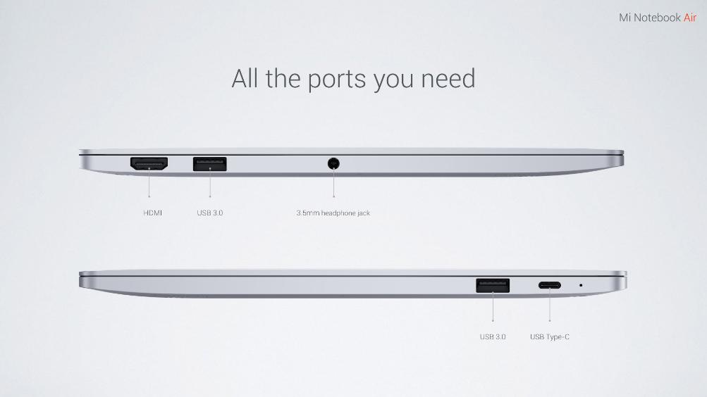 Xiaomi Mi Notebook Air-4