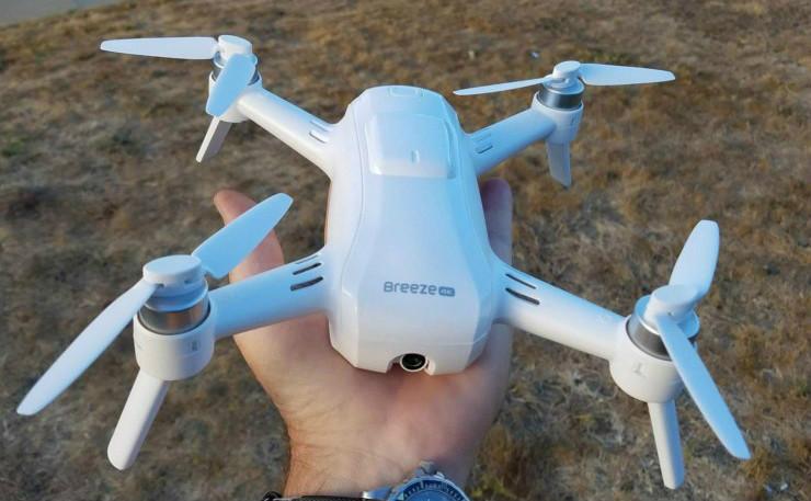 Yuneec Breeze selfie drone-02