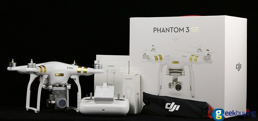 Dji Phantom 3 Se Unboxing