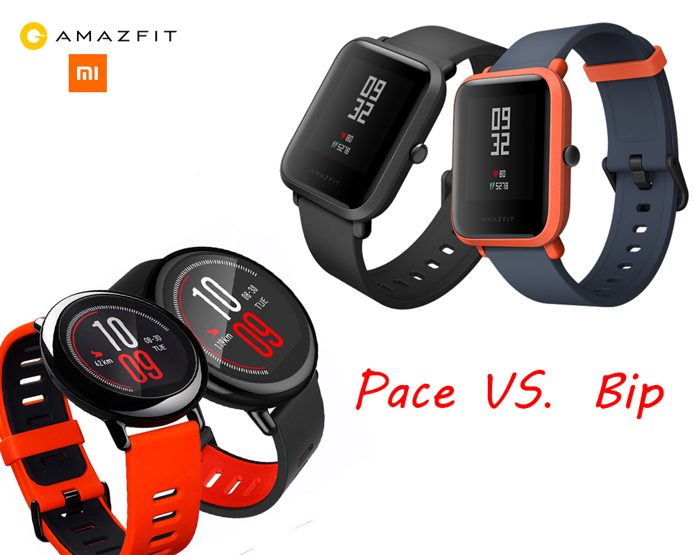 Amazfit Pace Vs Bip Xiaomi Huami Smartwatch Earlier This Month Launches Its New Smart Watch To My Surprise It Isnt Equipped With A Round Face Anymore