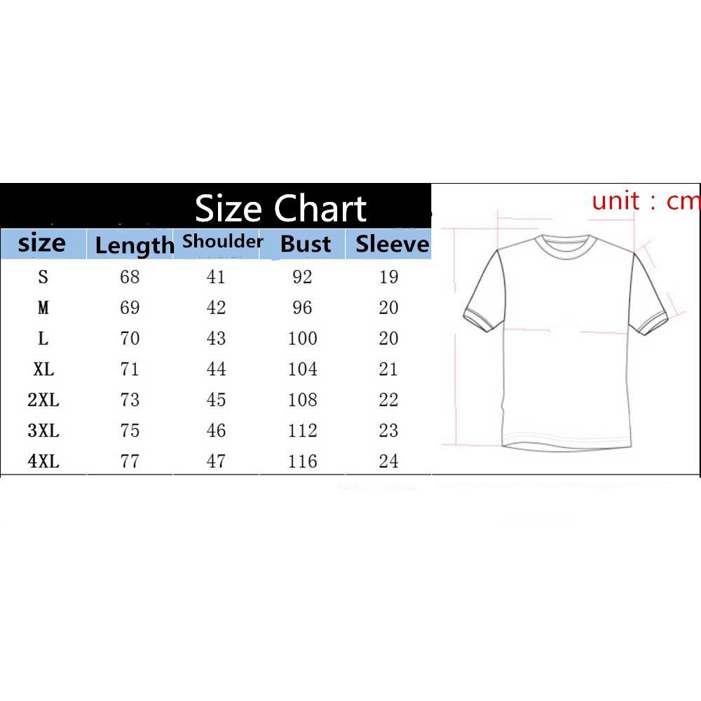 Mens T Shirt Size Converter